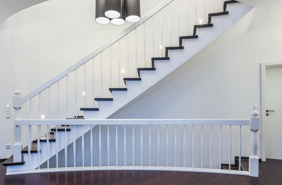 Geradläufige Treppe geradläufige treppen schreinerei leber kreuztal eichen